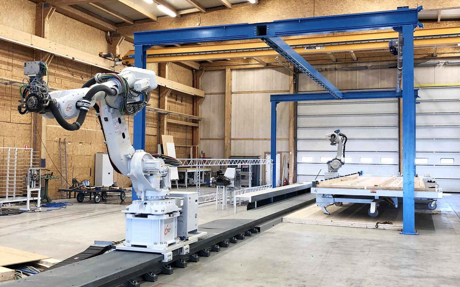RobotMob Imax Pro wood work